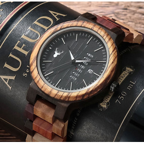 Reloj De Madera Marca Wood 100% Original