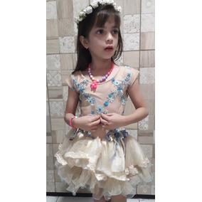 Vestido Réveillon Menina Infantil Luxo