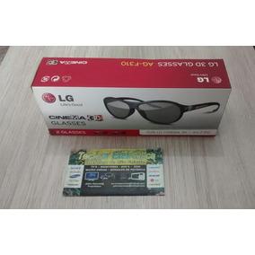 Oculos 3d Lg Caixa Com 02 Oculos Ag-f310 Novo
