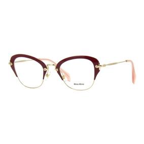 Óculos Armações Miu no Mercado Livre Brasil 81b61b6dc1