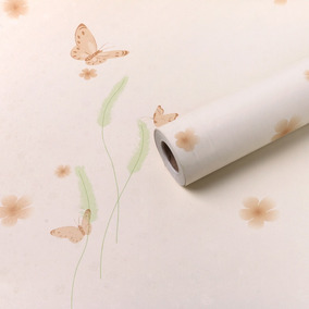 Papel Adesivo Contact (borboletas 1) Com 45cm X 10mt X-ink
