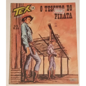 Hq Tex Nº 14 - O Tesouro Do Pirata - Ed. Vecchi - 1978