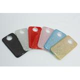 Kit 3 Capa Tpu Motorola Moto G5s Plus 3x1 Glitter Brilho