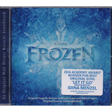 Frozen - Disney Soundtrack Importado - Disco Cd - Nuevo
