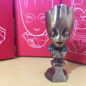 Mini Busto Baby Groot Vibranium Collectibles #1 Omelete Box