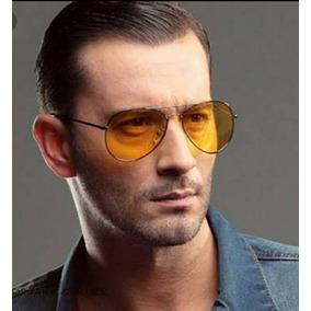 Oculos Aviador Lente Amarela Transparente - Óculos no Mercado Livre ... d7b0132eb1