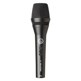 Microfone Com Fio Profissional Akg P3s Vocal Canto Original