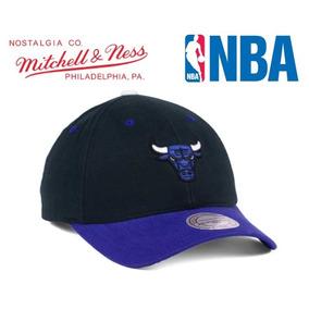 61164b832993e Gorra Mitchell   Ness Chicago Bulls Snapback Nueva Original. S  90