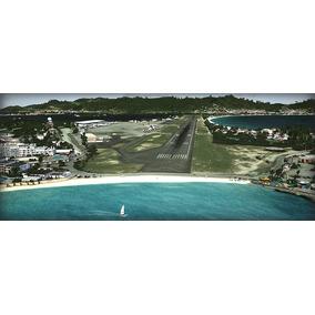 Fsx - Flight Simulator X + Aeronaves E Cenários