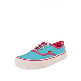 Tennis Turquesa Coca-cola Shoes Kick Elastic Girl