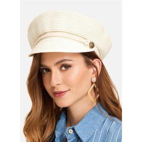 Chapéu Verão 2018 Palha Baker Boy Hat Feminino 631c75bc1b7