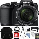Nikon Coolpix B500 Black 16mp 40x ***paquete***