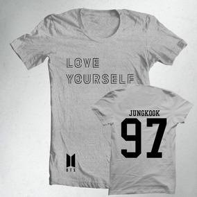 b55a958ce9717 Camiseta Bts Jungkook - Camisetas Manga Curta para Masculino no ...