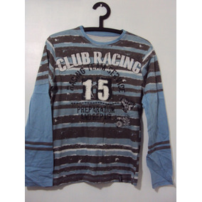 Camisa Manga Longa Red Bull F1 Moto Gp Formula 1 Branca Azul. 4 vendidos -  Paraná · Camiseta Manga Longa Club Racing 3bf86665c04
