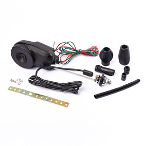 Antena Electrica Automatica Negro Plata Oregon12v + Llavero