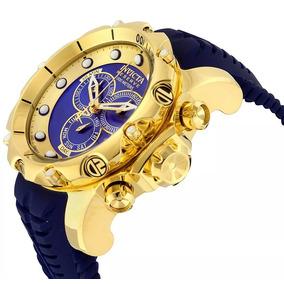 9ec91f3af0a Relógio Invicta 14503 Reserve Venom Banh. Ouro 18 K - Relógios De ...