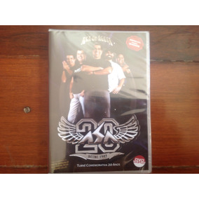 bf751bf469 Dvd Duplo Asa De Aguia 20 Anos Turne Comemorativa Original - Música ...