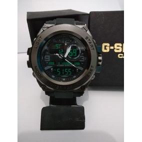 Relógio G Shock Sport Aço Water Resiet Novo + Caixa