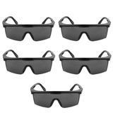 Kit 05 Óculos Proteção Visca Safety Estande Airsoft Carabina