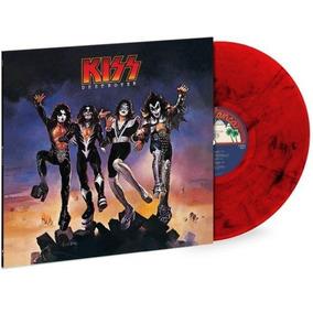 Kiss Destroyer Lp Vinil Edição Limitada 3000 Vermelho 2018