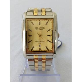 Relógio Feminino Detalhes Dourado Atlantis 308901gg Gold