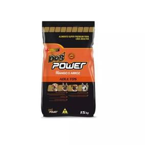 Ração Dog Power Adulto 15 Kg - Super Premium