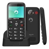 Celular Positivo P65 Dual Chip Tela 2.3 Bluetooth Com Rádio