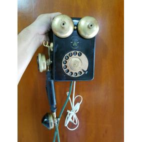 Antigo Telefone Ericsson De Parede - Funcionando