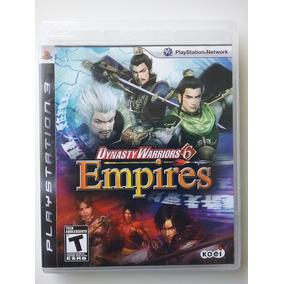 Dynasty Warriors 6 Empires Ps3 M. Física Original Perfeito