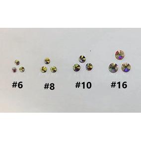 Piedra Para Uñas, Cristal Mc Nails, 4 Tamaños: 6,8,10 Y 16