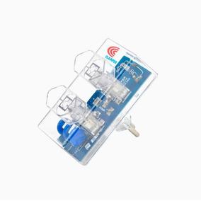 Kit 2 Clamper Energia 2 Tomadas - Dps Anti Raios Surtos