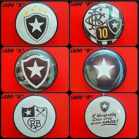 03 Chaveiros Face Dupla Botafogo Futebol De Regatas Time