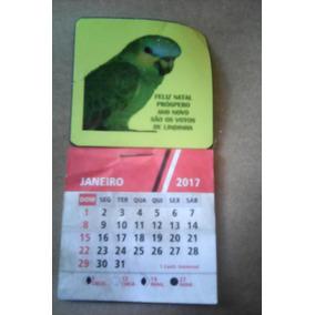 Mini Calendario + Imãs Personalizado 500 Unid
