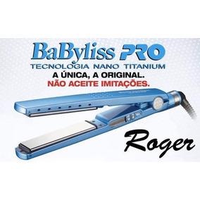 e3ee4b1b0 Chapinha Babyliss Pro Nano Titanium 11/4 By Roger - Eletrodomésticos ...