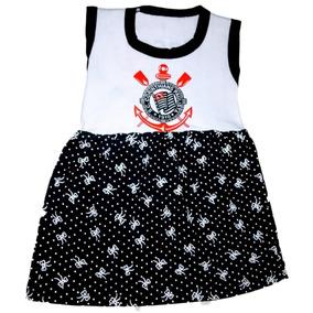 Vestidinho Do Corinthians - Bebês no Mercado Livre Brasil e75b0b7b329d5