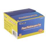 Fixador De Etiquetas Pinos Plásticos Tag 35mm Caixa 1000 Und