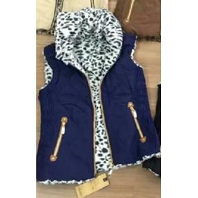 95c01a67052d9 Colete Feminino Dupla Face Plus Size - Coletes Femininas Azul ...