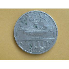 Moeda 400 Réis Oswaldo Cruz 1938