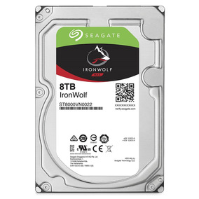 Disco Duro Interno Seagate 8tb Ironwolf St8000vn0022