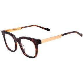 Evoke Volt 05 - Óculos De Grau G22 Turtle Shine Temple Gold 11776c0d45