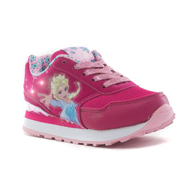 Zapatillas Con Luces Running Frozen Addnice
