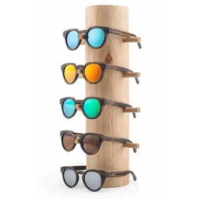 6c3e44b275478 Oculos Redondo Imita O De Madeira Sol - Óculos no Mercado Livre Brasil