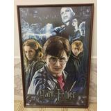 Afiches Originales De Harry Potter Marcos De Madera Y Vidrio