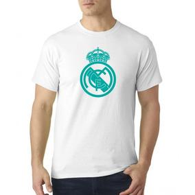 Camiseta Estampada Real Madrid Blanco / Esmeralda
