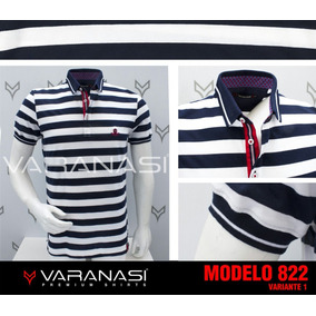 Playera Tipo Polo Varanasi 822v1 Slim Fit dfe7cf4404af7