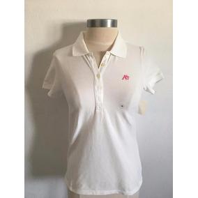 839389c8e9 Polo Aeropostale Feminina Branca Original - Camisetas Manga Curta no ...