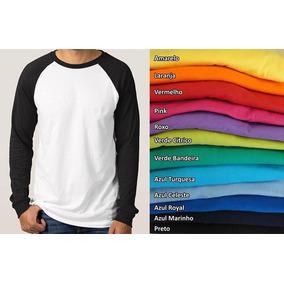 50d067fba Camiseta Manga Longa Para Sublimaçao Colorida - Calçados