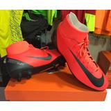 Zapatilla Nike Superfly 6 Club Cr7 Fg Para Hombre - Rojo