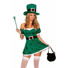 Disfraz Para Mujer De Beisbol Marca Dreamgirl · Disfraz De Trevol Color  Verde Marca Dreamgirl c415f0267f6
