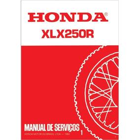 Manual De Serviço Honda Xlx 250r 1984 Pdf